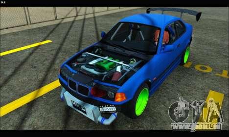 BMW e36 Drift Edition Final Version für GTA San Andreas