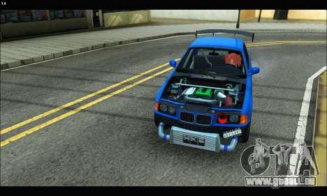 BMW e36 Drift Edition Final Version pour GTA San Andreas vue de droite