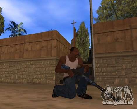 Nouvel An Pack d'Armes pour GTA San Andreas cinquième écran