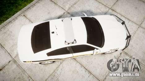 Dodge Charger 2013 Sheriff [ELS] v3.2 für GTA 4 rechte Ansicht