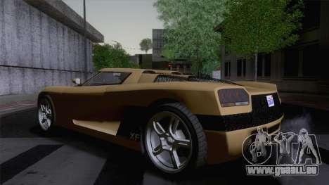 GTA V Overflod Entity XF v.2 (IVF) pour GTA San Andreas laissé vue