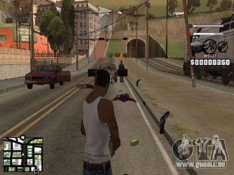 Nice C-HUD pour GTA San Andreas troisième écran