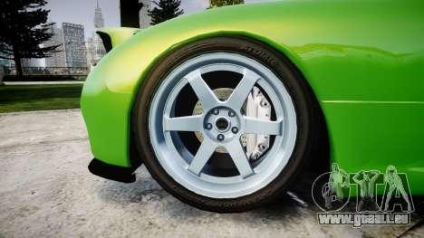 Mazda MX-7 für GTA 4 Rückansicht
