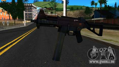 UMP45 from Battlefield 4 v2 pour GTA San Andreas