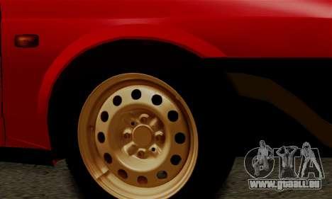 VAZ 2108 Hobo für GTA San Andreas Innenansicht