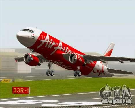 Airbus A320-200 Air Asia Japan für GTA San Andreas Unteransicht