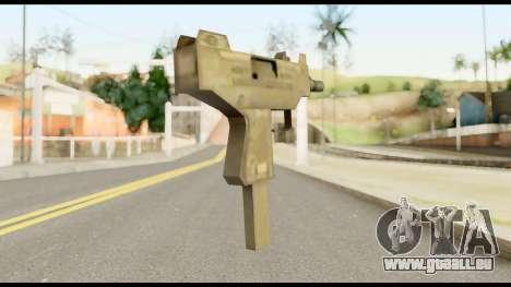 New Micro SMG für GTA San Andreas zweiten Screenshot