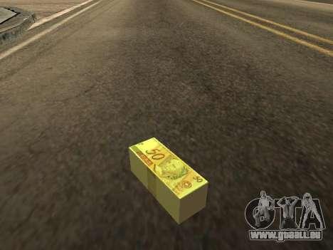 Mod des brasilianischen Geld für GTA San Andreas zweiten Screenshot