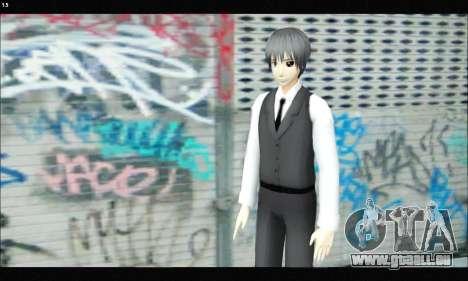 Kaneki Ken (Tokyo Ghoul) für GTA San Andreas