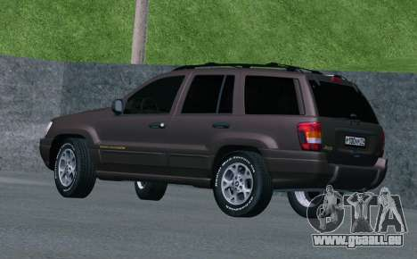 Jeep Grand Cherokee WJ für GTA San Andreas rechten Ansicht