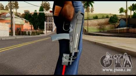 Scorpion from Metal Gear Solid pour GTA San Andreas troisième écran