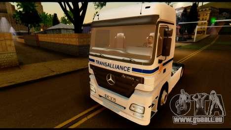Mercedes-Benz Actros PJ2 für GTA San Andreas Seitenansicht