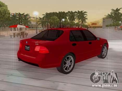 Saab 95 pour GTA San Andreas moteur