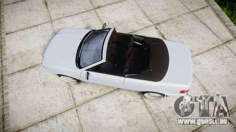 Audi 80 Cabrio euro tail lights pour GTA 4 est un droit