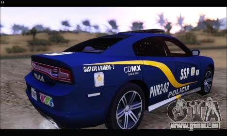 Dodge Charger SXT PREMIUM V6 SSP DF 2014 für GTA San Andreas linke Ansicht