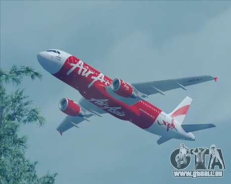 Airbus A320-200 Air Asia Japan für GTA San Andreas Rückansicht