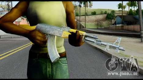 AK47 from Max Payne für GTA San Andreas dritten Screenshot