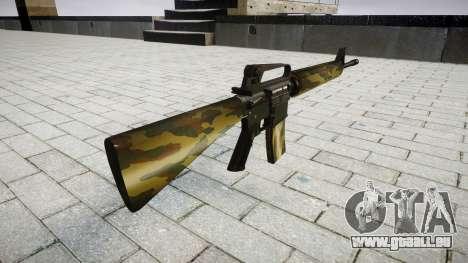Le M16A2 fusil flore pour GTA 4 secondes d'écran