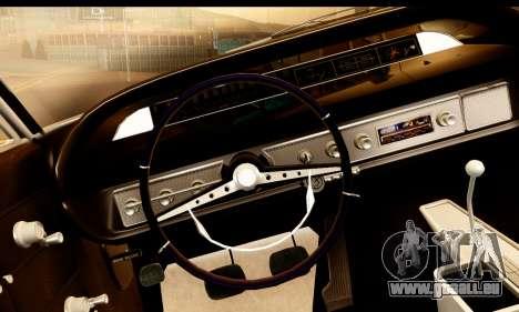Chevrolet Impala 1963 für GTA San Andreas rechten Ansicht