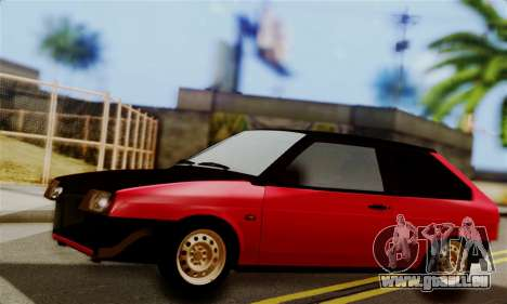 VAZ 2108 Hobo pour GTA San Andreas laissé vue