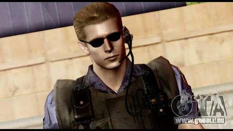 Resident Evil Skin 11 für GTA San Andreas dritten Screenshot