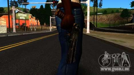 Pistol from Shadow Warrior für GTA San Andreas dritten Screenshot