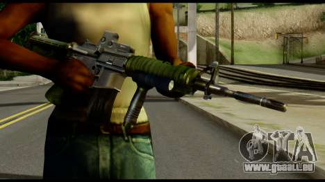SOPMOD from Metal Gear Solid für GTA San Andreas dritten Screenshot