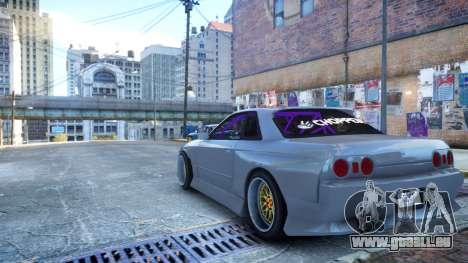Nissan Skyline R32 GT-R Origin Kit für GTA 4 linke Ansicht