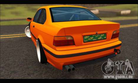 BMW e36 Drift pour GTA San Andreas laissé vue