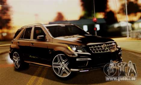 Mercedes-Benz ML63 AMG pour GTA San Andreas