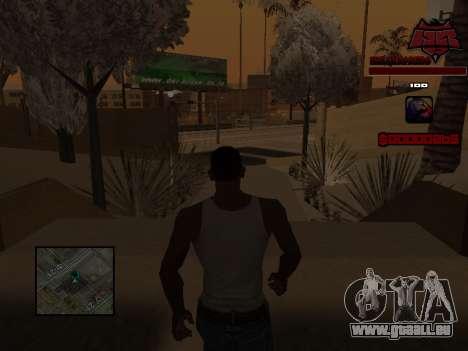 C-HUD Raisers pour GTA San Andreas sixième écran