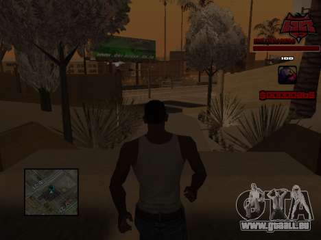 C-HUD Raisers für GTA San Andreas sechsten Screenshot