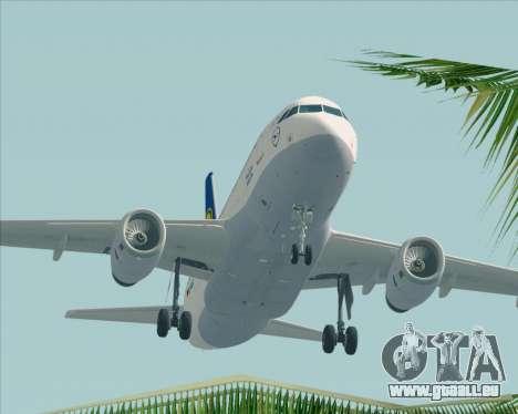Airbus A319-100 Lufthansa pour GTA San Andreas salon