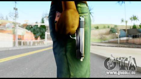 Colt 1911A1 from Metal Gear Solid für GTA San Andreas dritten Screenshot