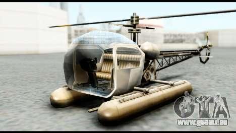 Beta Seasparrow für GTA San Andreas