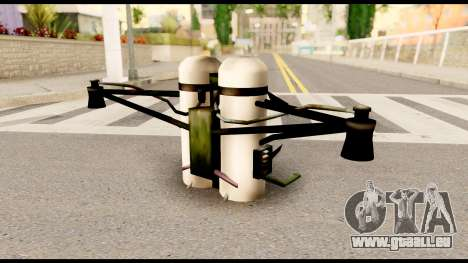 Fury Jetpack from Metal Gear Solid pour GTA San Andreas