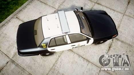 Ford Crown Victoria Ontario Police [ELS] pour GTA 4 est un droit