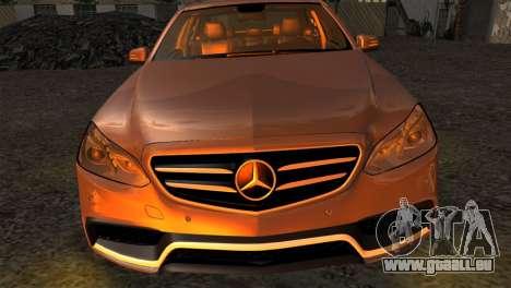 Mercedes-Benz E63 AMG 2014 für GTA San Andreas rechten Ansicht