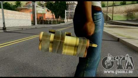TNT from Metal Gear Solid pour GTA San Andreas troisième écran