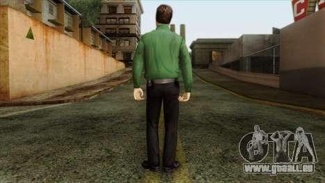 Police Skin 8 pour GTA San Andreas deuxième écran
