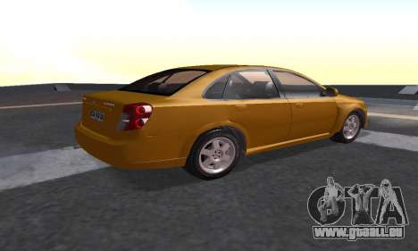 Chevrolet Lacetti für GTA San Andreas linke Ansicht