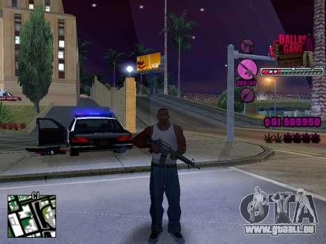 C-HUD Ballas TAWER für GTA San Andreas