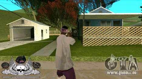 C-HUD Ghetto Chambre pour GTA San Andreas