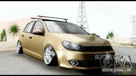Volkswagen Golf 6 pour GTA San Andreas