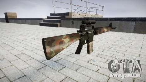 Die M16A2 Gewehr [optisch] berlin für GTA 4 Sekunden Bildschirm