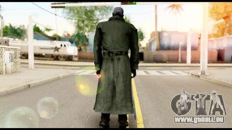 Resident Evil Skin 12 pour GTA San Andreas deuxième écran