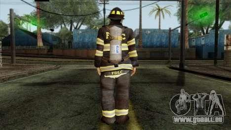 GTA 4 Skin 38 pour GTA San Andreas deuxième écran