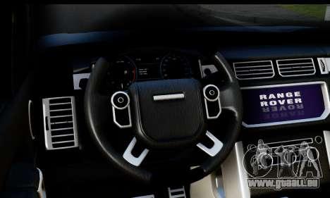 Range Rover IV 3.0 AT für GTA San Andreas rechten Ansicht
