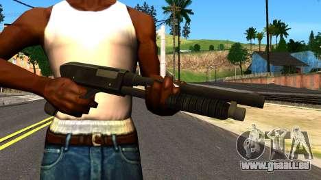 Combat Shotgun from GTA 4 für GTA San Andreas dritten Screenshot