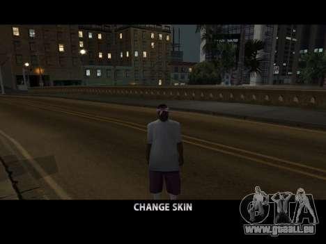Skin Changer pour GTA San Andreas quatrième écran